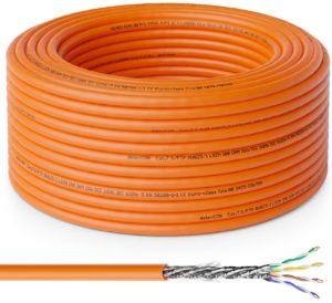 Cable de red CAT7 de 10 a 100 metros